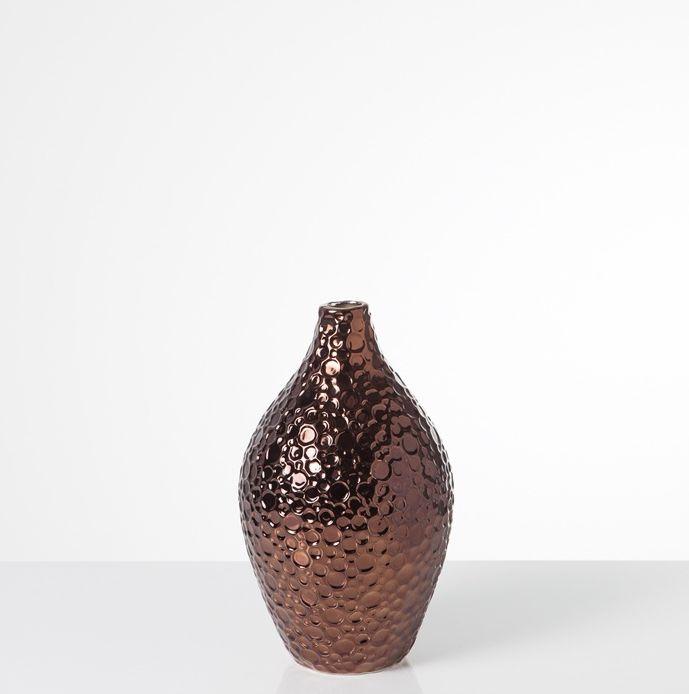 Bubble Copper Vase - Small