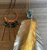 Cannelita Copper/Turquoise Necklace