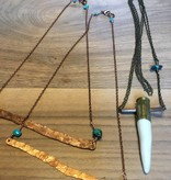 Cannelita Copper Bar Necklace