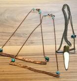 Cannelita Bullet Antler Necklace
