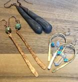 Cannelita Copper Earrings