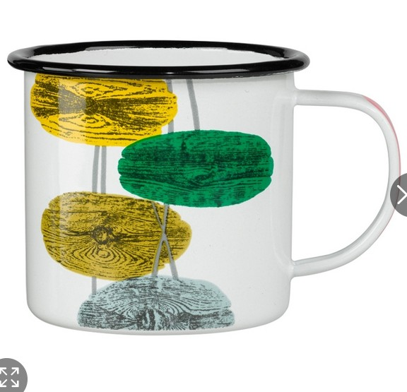 Pavanne Enamel Mug