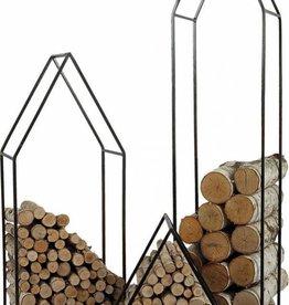 "House Firewood Holder 49"""