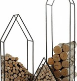 House Firewood Holder 25""