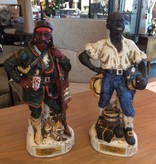 Lewis & Clark Pair of Figurine Decanters *CS*