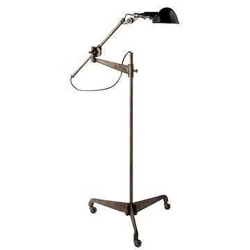 Freeman Floor Lamp Steel