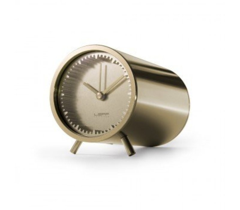 Tube Clock, Brass