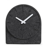 Table Clock Felt 2, Grey