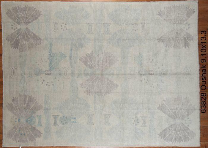 """13'3""""x9'10"""" Oushak Design Rug- C63828"""