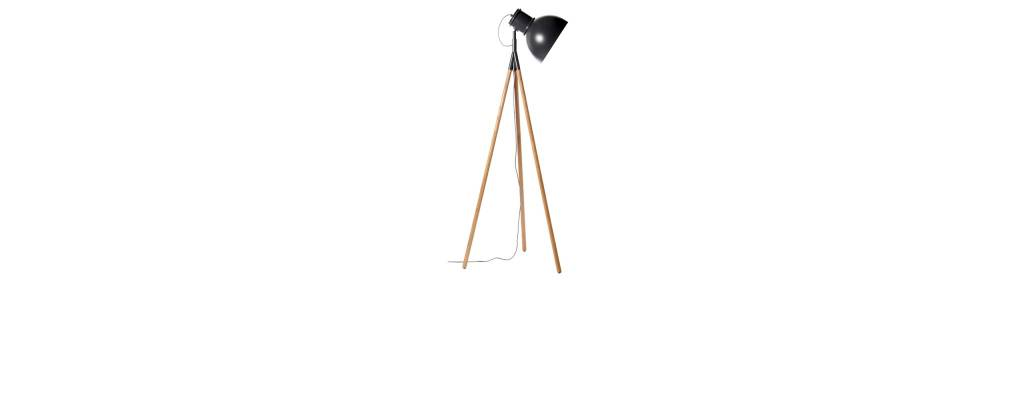 Industry Floor Lamp Black