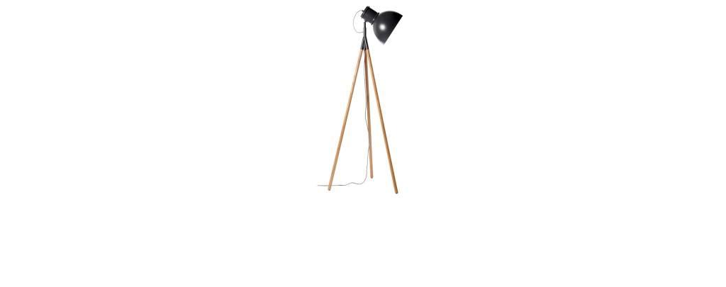 Industry Floor Lamp Black