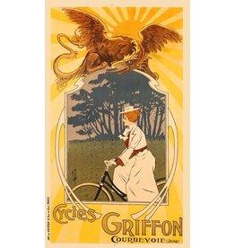 Griffon Cycles Print, Framed