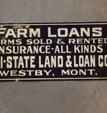 Farm Loans Sign *CS*