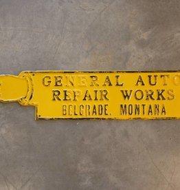 General Auto Belgrade Sign