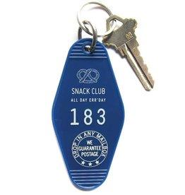 Snack Club Key Tag