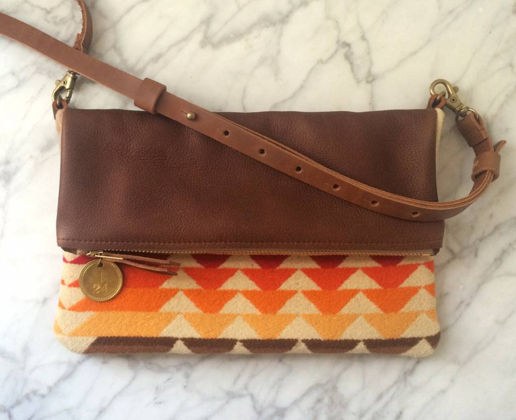 Crossbody Bag, Pendleton & Congac