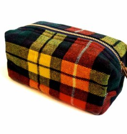 LG Cosmetic Bag - Plaid