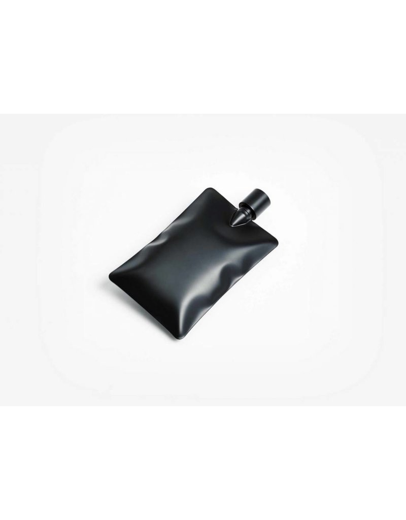 Liquid Body Flask, Matte Black