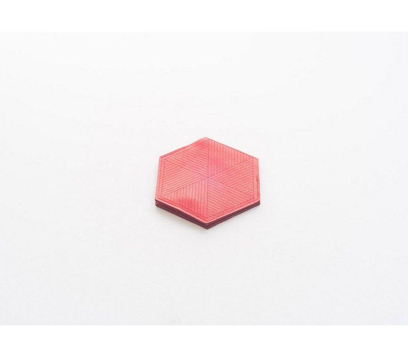Laser Cut Hexagon Card Case