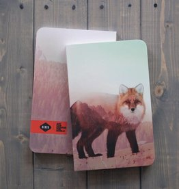Arctic Fox Notebook