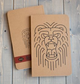 Bear Kraft Notebook