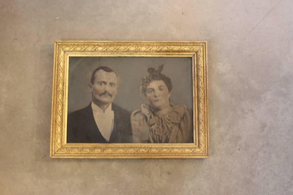 Old Couple - Tin Printed *CS*
