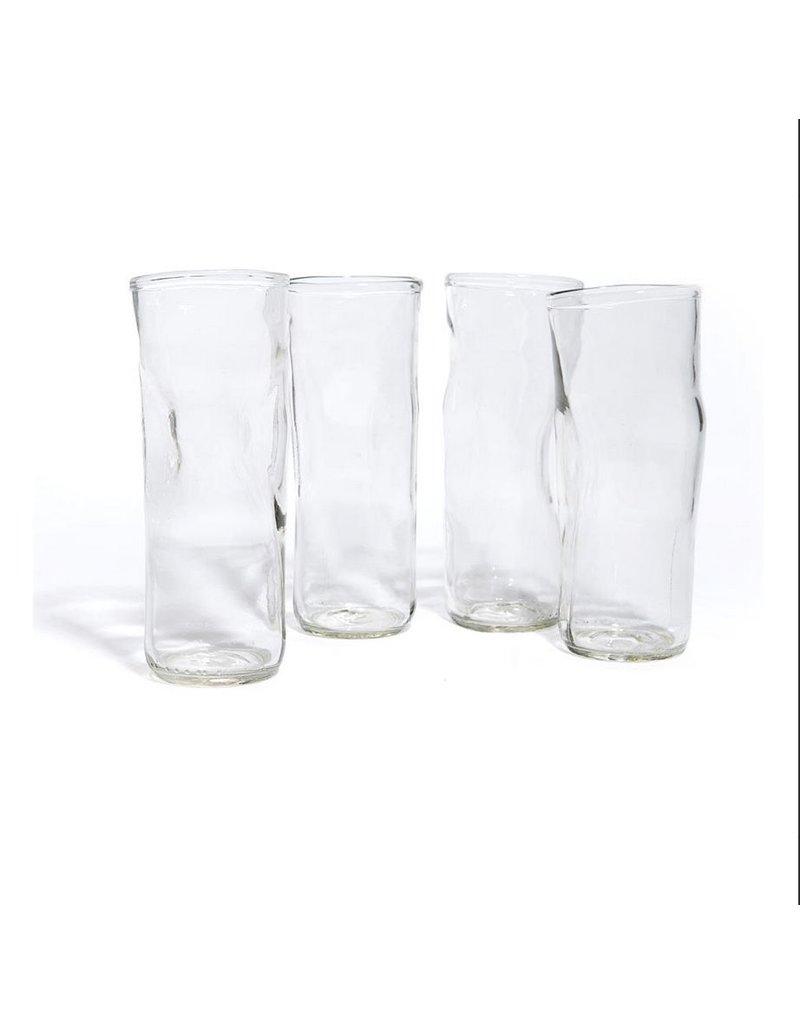 Wrinkle Tall Glass