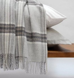 Jasper Soft Grey Throw