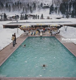 "Slim Aarons ""Snow 'Round The Pool"""