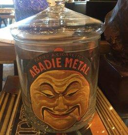 Abadie Metal Tobacco Jar