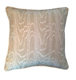 Abigail Wood Pattern Pillow