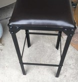 Lucas Stool, Metal / Leather