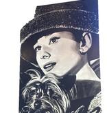 Audrey Hepburn w/ dog *CS*