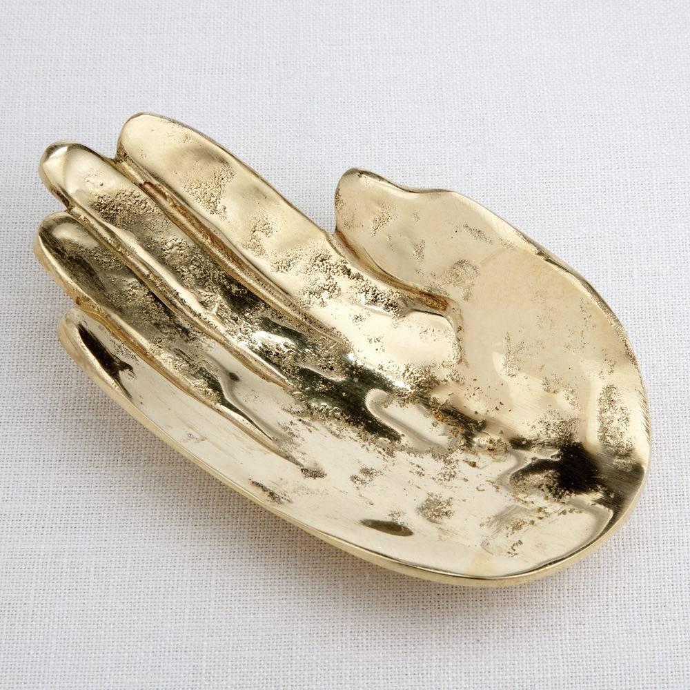 Palm Dish Bronze