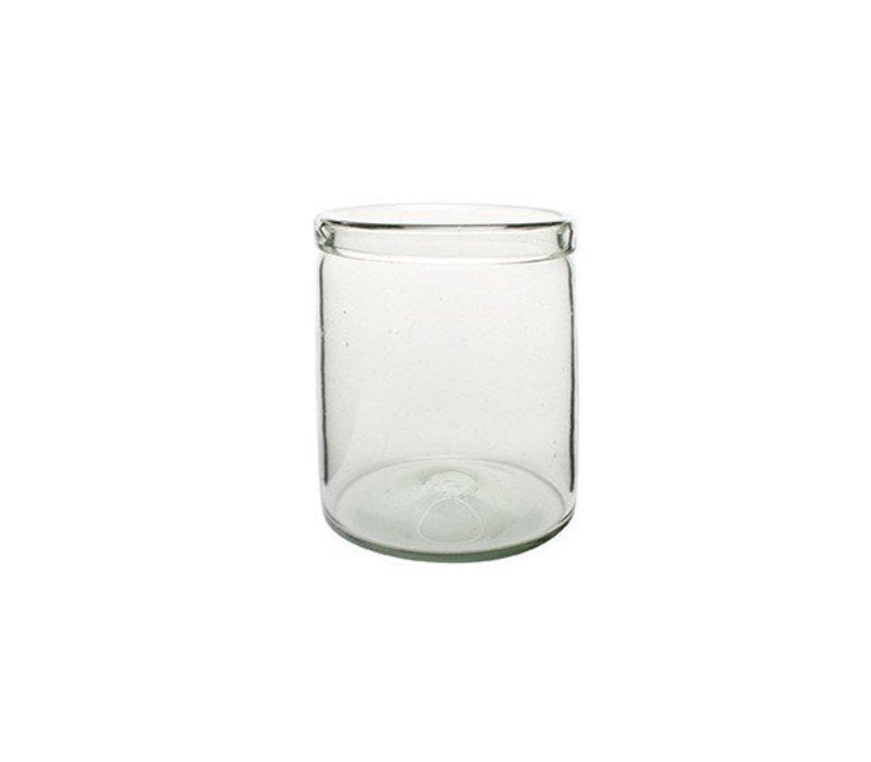 Cylinder Glass Vase, Medium