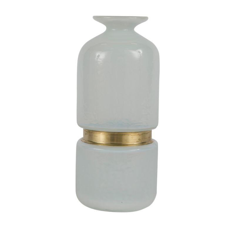 Milk Glass Vase, Large