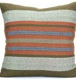 Saba Chief Pillow persimmon/mole 20x20