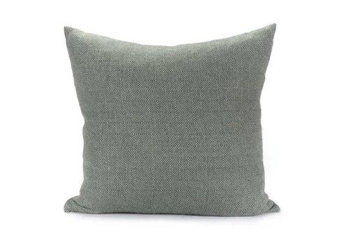Dakar Pillow | Celadon + Steel