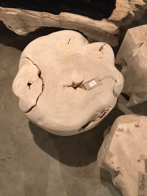 Bleached Root Stool
