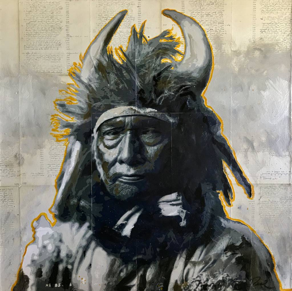 """Color is the Medicine- """"Bull Chief"""""""