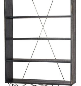 Zola Shelving - Ebonized Oak