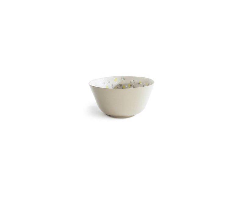 Spotted Serving Bowl - Citron