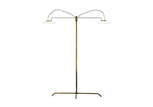 Folio Desk Lamp, Brass