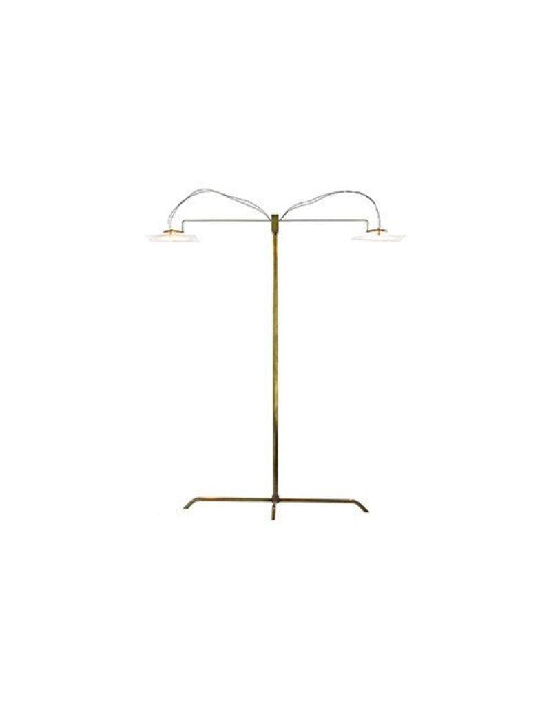 Folio Desk Lamp, Brass