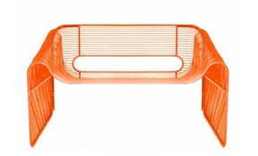 Hot Seat-Orange w/ Black Vinyl Pad