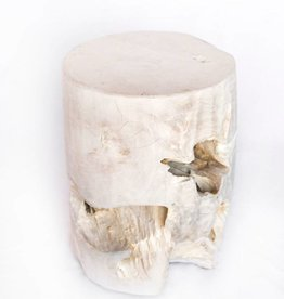 Bleached Small Stool