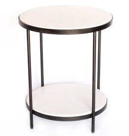 Double White Tables