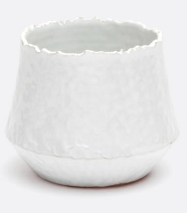 Hallen Vase- White