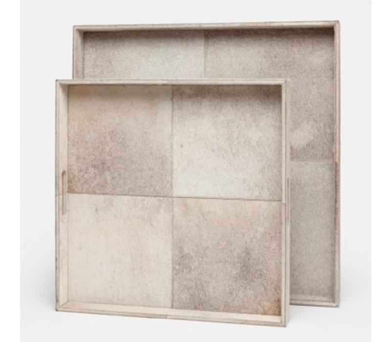 Renard Grey Square Tray-XL