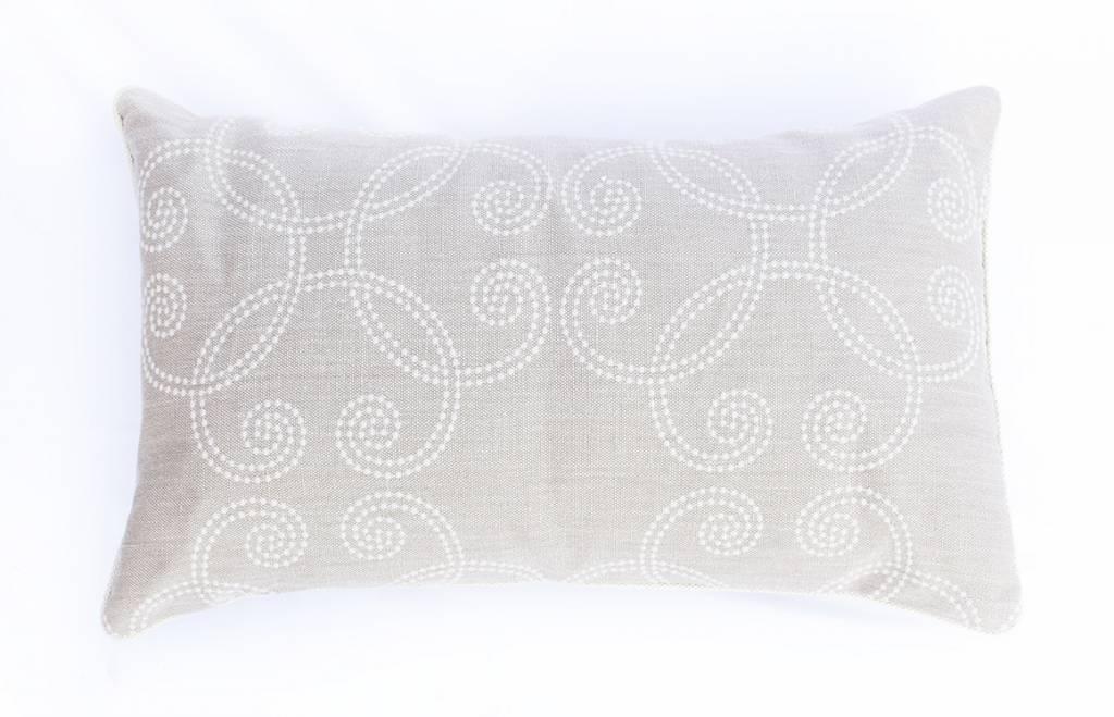 Linen Swirl Lumbar